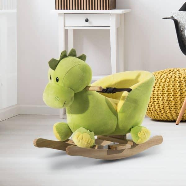 Cavalinho de Baloiço Dinossauro
