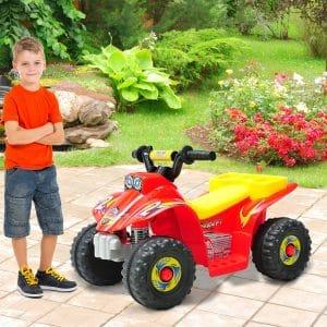 Moto quatro Infantil com bateria