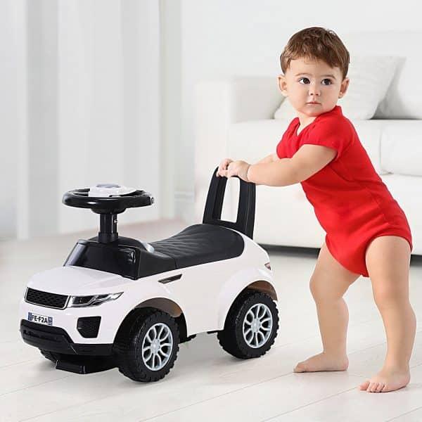Andarilho Carro Infantil sem Pedais Branco