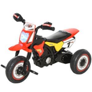 Triciclo Moto TT com 3 rodas Música e farol