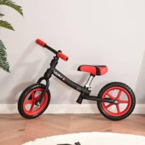 Bicicleta sem pedais em Preto