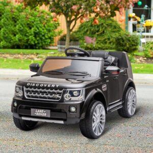 Land Rover Elétrico para Crianças - Preto